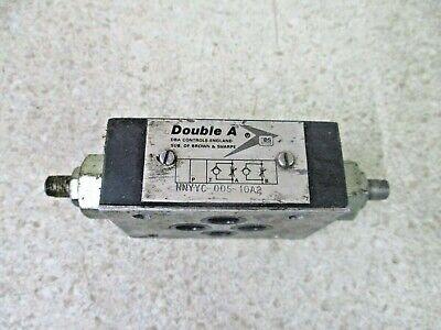 Double A Nnyc-005-10a2 Hydraulic Valve 10171226d Used