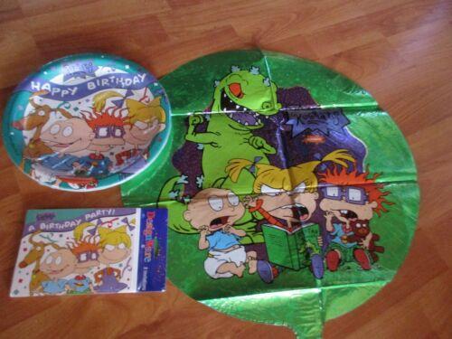 Rugrats Birthday Party Supplies 3pc Lot Designware Multi-color NOS