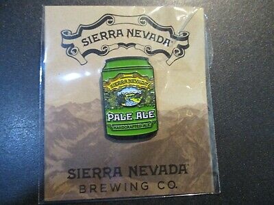 SIERRA NEVADA Pale Ale Can LAPEL PIN Badge Button New craft beer brewery brewing Craft Badges Pins