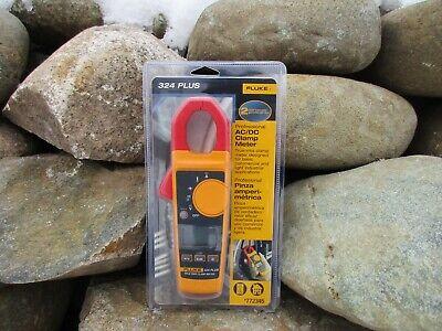 New Sealed Fluke 324 Plus Professional Acdc 600-volt Digital Clamp Meter