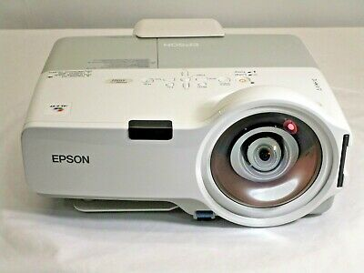 Epson PowerLite 410W H330A Short-Throw LCD Projector 180 Lamp Hrs AB678