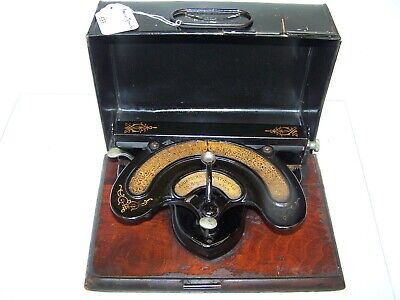 Antique 1893 American Typewriter Co. Model 2 Vintage Typewriter #583C