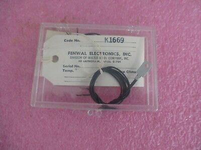 Fenwal Electronics Code: K1669 Temperature Sensing Device.  New Old Stock  <  Fenwal Electronics