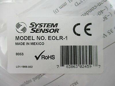 New System Sensor Eolr-1 - Spst End Of Line Supervision Relay