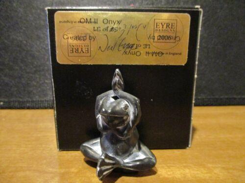 Harmony Kingdom Artist Neil Eyre 2006 OMII ONYX Yoga Frog SGN # 18