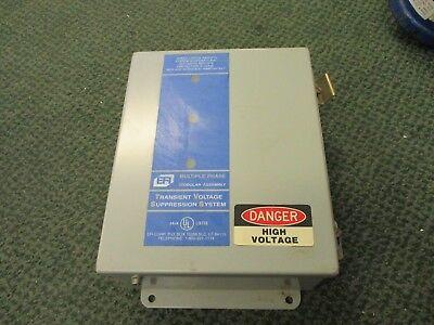Efi Modular Surge Suppressor Tvss 277v 5060hz 305v Rms 430v Peak 3ph Used