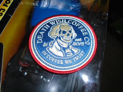 Death Wish Coffee George Deathington patch New