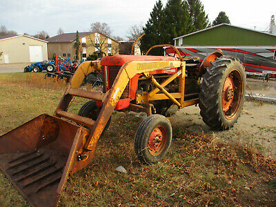 1963 Massey Ferguson 65 Tractor With Loader Power Steering Live Pto