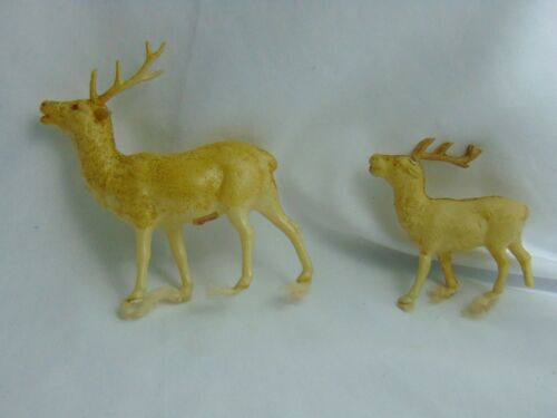 Antique Celluloid Reindeer 2 1930