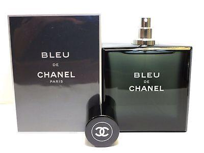 Bleu de Chanel Pour Homme 3.4 oz. Men Perfume EDT Cologne Fragrance Blue