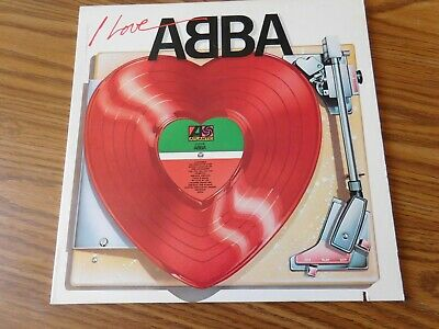 I love Abba  LP   vg+/vg+