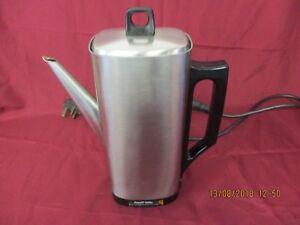 Vintage Russell Hobbs Electric Coffee Perculator - Vintage - Retro - Kitchenware