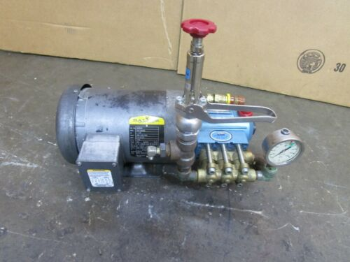 CAT 2SF30ES DIRECT DRIVE PLUNGER PUMP 3GPM 1500PSI W/ 1-1/2HP MOTOR 208-230/460V