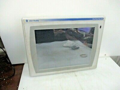 Allen Bradley Panelview Plus 1500 Color Touch Display 2711p-t15c4b1