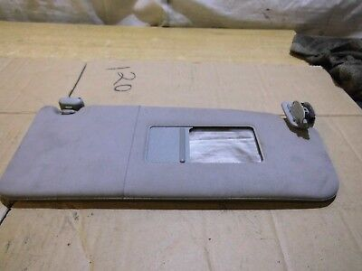 AUDI A6 C5 FRONT SUN VISOR IN GREY WITH LOOM DRIVER SIDE OSF 4B0857552A 1998 >