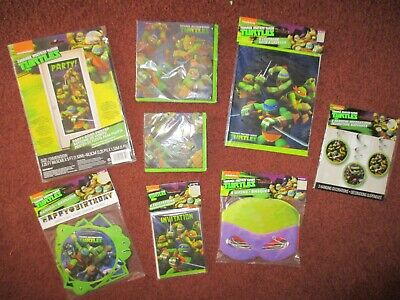 Ninja Turtles Birthday Party Supplies (Teenage Mutant Ninja Turtles  Birthday Party Supplies Decor)