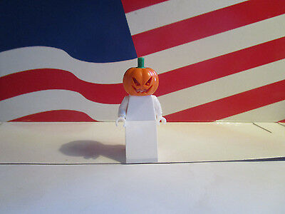 LEGO (1) JACK O LANTERN HEAD PUMPKIN HEAD FROM SET 75904 SCOOBY DOO, HALLOWEEN  - Lego Halloween Scooby Doo