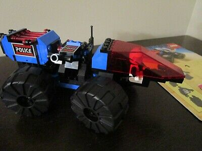Vintage (1989) LEGO Space Police I set 6895 Spy-Trak I - VERY RARE
