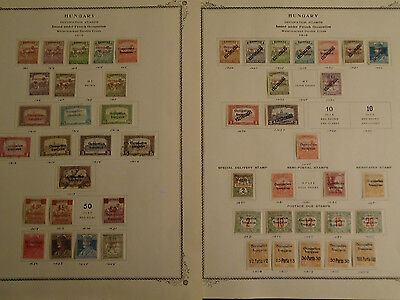 FANTASTIC HUNGARY COLLECTION OCCUPATION MINT/USED STAMPS