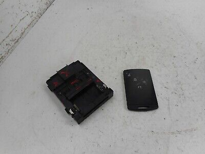 2011 RENAULT SCENIC MK3 IGNITION KEY CARD READER WITH CARD 285909828R