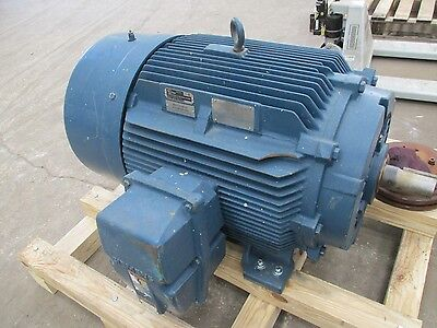 Siemens Electric Motor 100hp 1200rpm 445ts 460v Inverter Duty Xpl