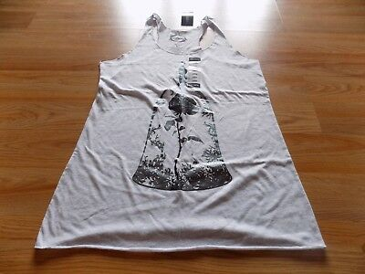 Junior's Size Large Hot Topic Disney Beauty and Beast Enchanted Rose Tank Top N
