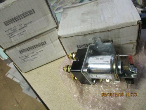 LOT OF 3 AMETEK MAGNETIC CONTACTORS JAD-5005 24V 6110-01-477-1175  B345