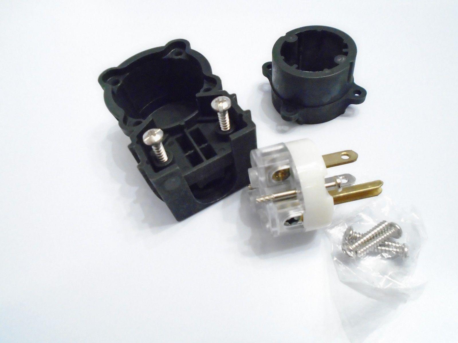 90 Angle Plug 15a 125 Vac Pass Seymour Legrand 5266 Xgcman 3 Pole Ebay Extension Cord Replacement Electrical Plugs 15amp 125v Prong