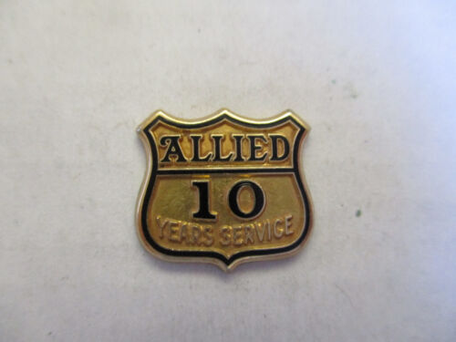 Allied  10yr Trucking Truck Driver Employee Safety Award Pin
