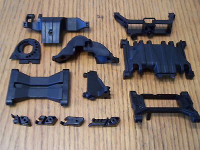 Traxxas TRX-4 Skid Plate Motor Mount Chassis Crossmember Upper Lower Gear Cover