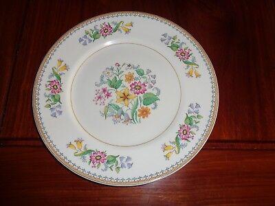Maddock England Vitreous Floral Salad Or Breakfast Plate CELESTE