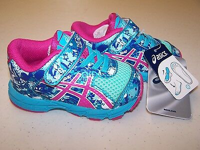 Kid/'s Asics Gel-Noosa Tri 9 PS Sneakers Pink//White//Zebra C402Q 3501 Brand New!!!