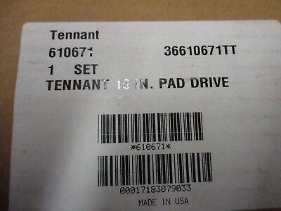 Tennant Oem 610671 Pad Driver Set 16