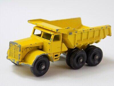Vintage Matchbox Lesney No. 6 Euclid Dump Truck