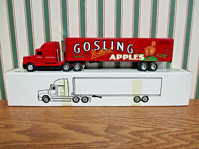Duckwall Brand Gosling Apples Freightliner Semi By Ertl 1/64th Scale >