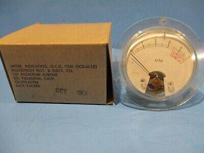 Victoreen Civil Defense Ocd-m-151 Geiger Counter Meter Only Ocd M 151 Cdv-715 Cd