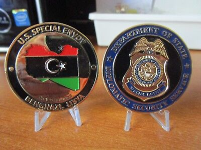 Department Of State Diplomatic Security Service Benghazi Libya Challenge Coin