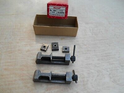 Starrett Toolmakers Clamps No. 160 1 Pair Machinist Tools Usa