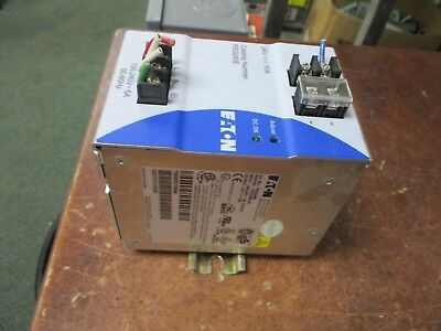 Eaton Power Supply Psg240e-a1 Input 100-240v 5a 50-60hz Output 24vdc 10a Used