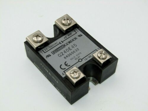 G240E45 Solid State Relay by Crouzet/Gordos 45A/24-280Vac
