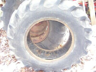 Vintage Allis Chalmers D 14 - D 15 Tractor -13 X 26 Rear Tire