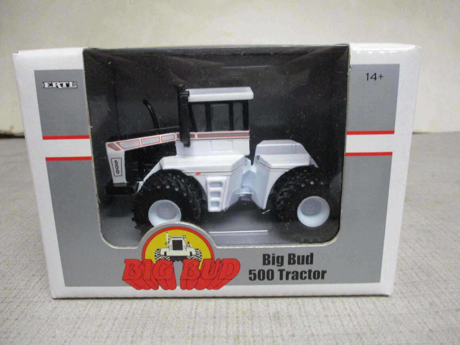 (2010) Big Bud Model 500 4WD Toy Tractor, 1/64 Scale, NIB