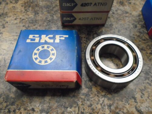 SKF 4207 ATN9 BEARING 35X72X23 mm MADE IN ITALY A120