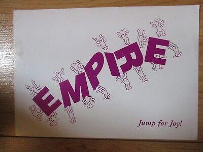 Strictly Underground Oct 92 @ The Empire Club Bognor Regis A5 Rave Flyer