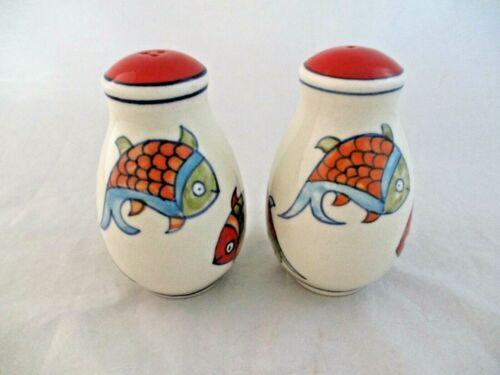 Pier 1 Koi Fish Salt and Pepper Shaker Set (2)