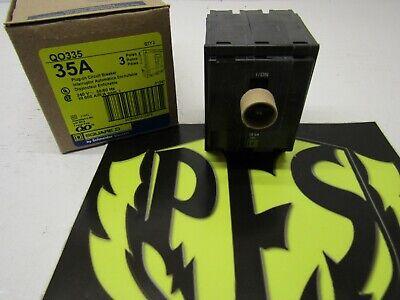 Square D Qo335 Miniature Circuit Breaker - 35 A 3 Pole 120240 Vac