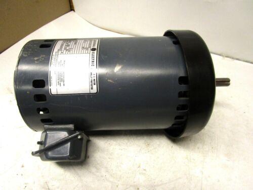 GENERAL ELECTRIC 5KCP49ZG190S ELECTRIC MOTOR 460V VOLTS 1PH 1075 RPM 56Z FRAME