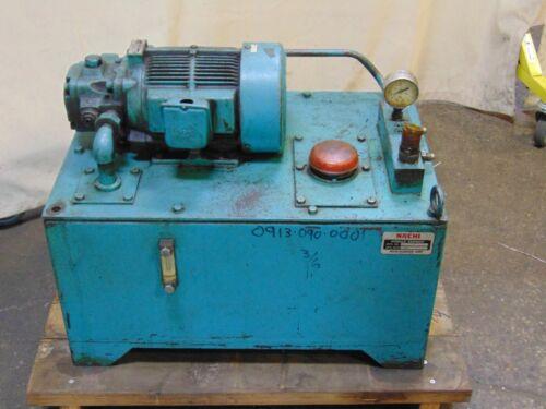 Nachi UNI Pump Hydraulic Power Unit