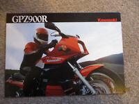 KAWASAKI GPZ900R SALES BROCHURE