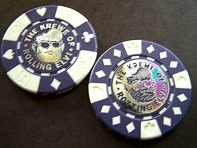 2018 Rolling Elvi Poker Chip Halloween Parade Doubloon Set (Chips Halloween)